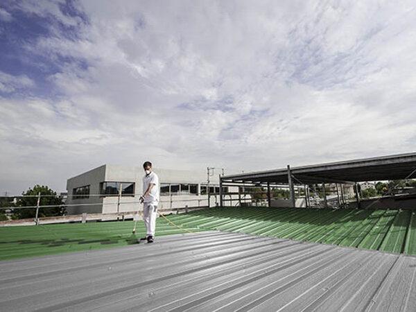 Agregaty do malowania dachu