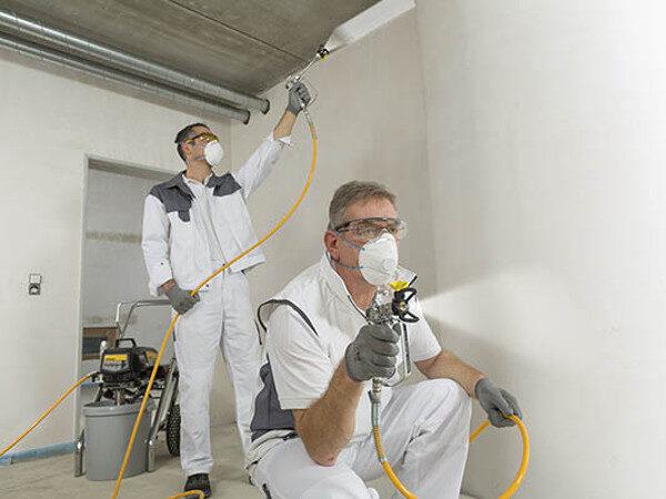 Agregaty natryskowe do malowania ścian