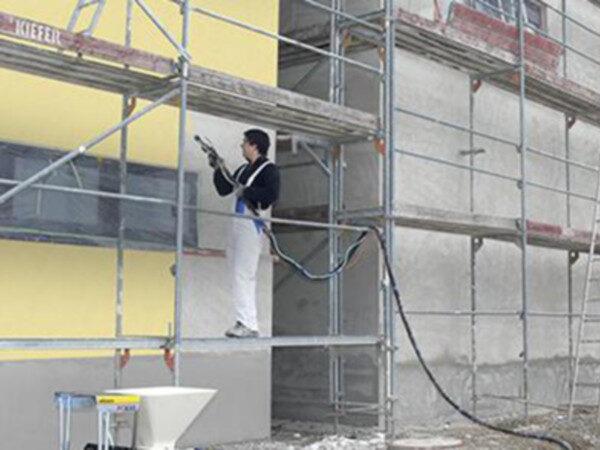 Agregaty do malowania elewacji