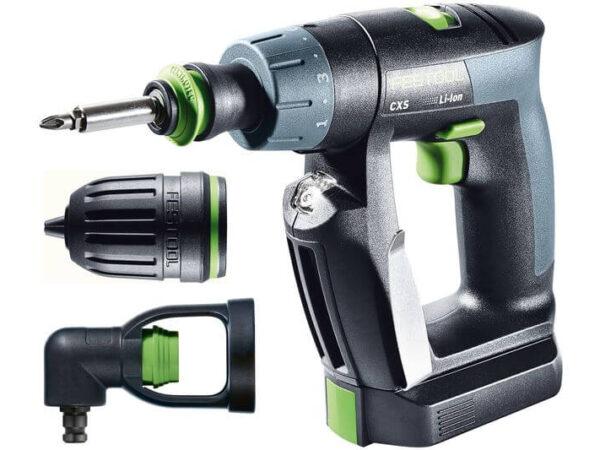 Akumulatorowa wiertarko-wkrętarka Festool CXS Li 2,6-Set 564532