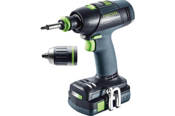 Akumulatorowa wiertarko-wkrętarka Festool T 18+3 Li 3,1-Compact 574908