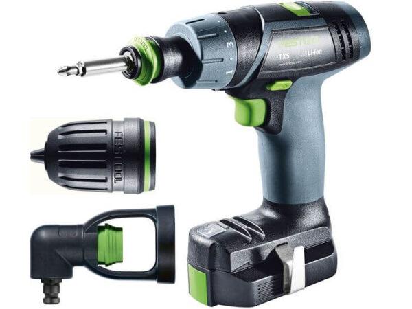 Akumulatorowa wiertarko-wkrętarka Festool TXS Li 2,6-Set 564510