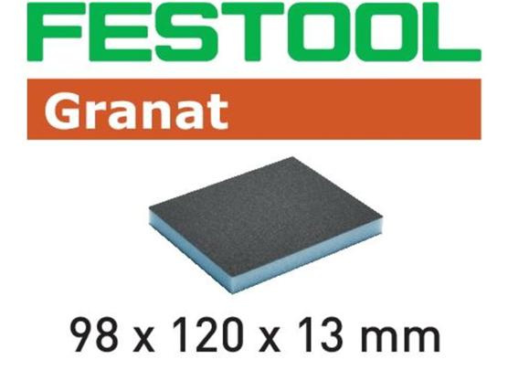 Gąbka szlifierska Festool 98 x 120 x 13 mm