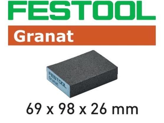 Gąbka szlifierska Festool 69 x 98 x 26 mm