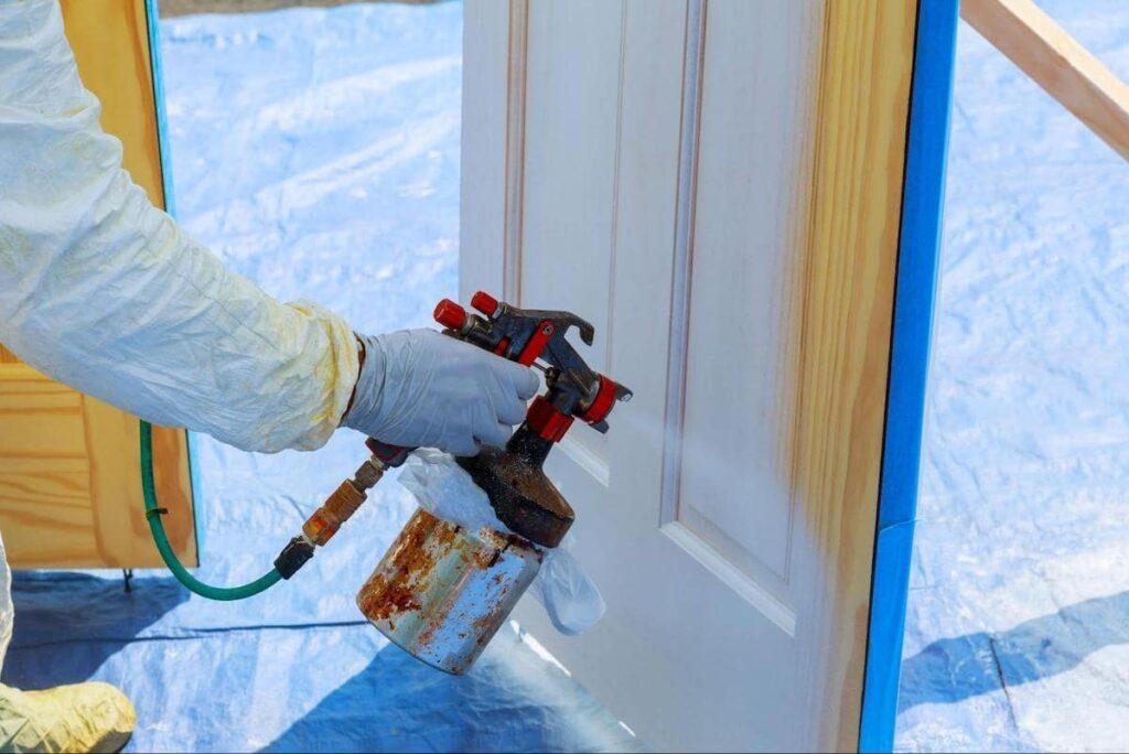 Natryskowe Malowanie Drzwi